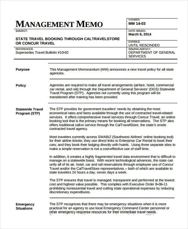 Business Memo Format - 18+ Free Sample, Example, Format Free
