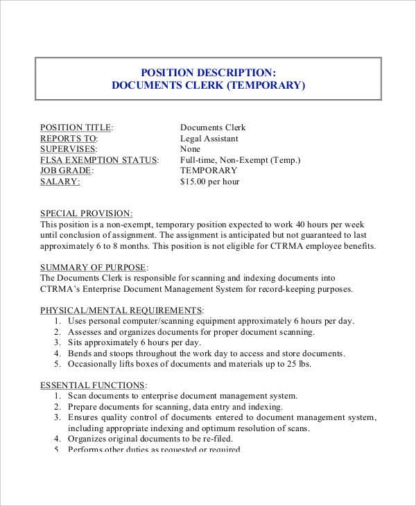 paralegal job description resume | esyndicat.us