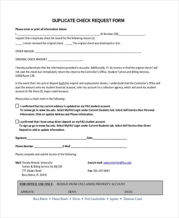 Check Request Form - 11+ Free Word, PDF Documents Download Free