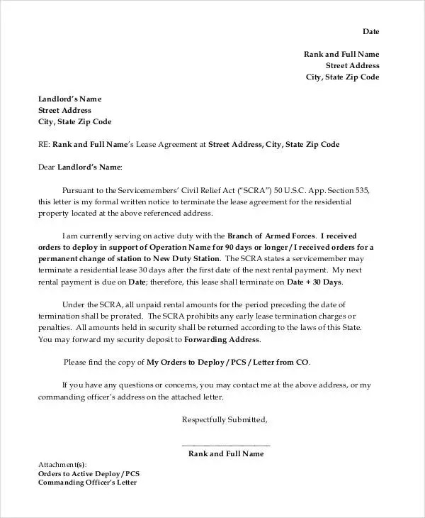 Letter of Termination Template - 14+ Free Sample, Example, Format