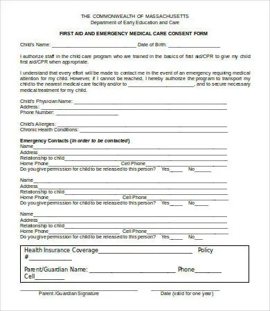 medical consent forms template - Jolivibramusic - medical consent form