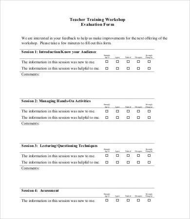 Workshop Feedback Form Using Surveygizmo To Evaluate A Workshop And