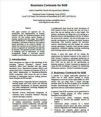 Business partner contract templatescharacterworldco