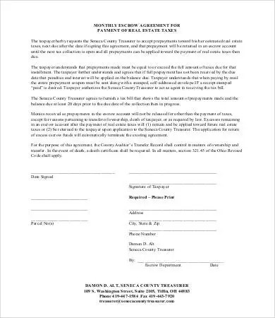 Escrow Agreement - 10+ Free Word, PDF Documents Download Free
