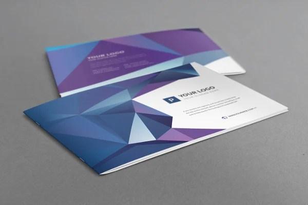 20+ Examples of Geometric Brochure Designs Free  Premium Templates