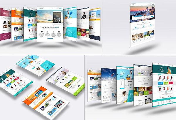 15+ Examples of Web Mockups Free  Premium Templates