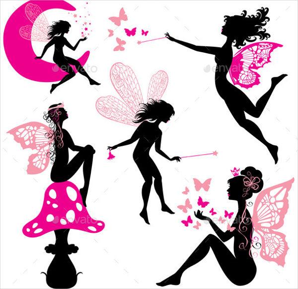 10+ Fairy Silhouettes Free  Premium Templates