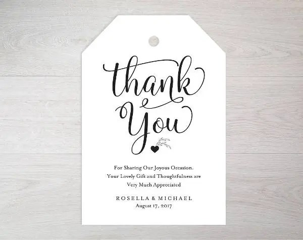 8+ Thank You Tags - PSD, Vector EPS Free  Premium Templates