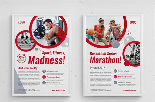 Fitness Flyers - 8+ Free PSD, Vector AI, EPS Format Download Free