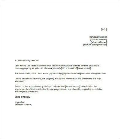 Personal Reference Letter Template - 7+ Free Word, PDF Documents - personal referral letter