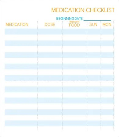 Daily Checklist Template - 10+ Free PDF Documents Download Free