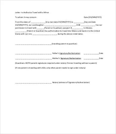 Letter Of Authorization - 11+ Free Word, PDF Documents Download