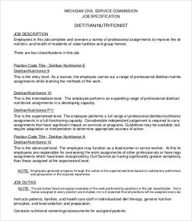 Dietary Aide Job Description  NodeCvresumePaasproviderCom