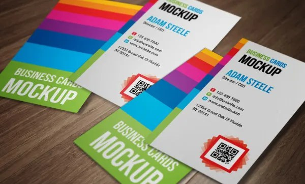 24+ Examples of Colorful Business Card Templates - AI, Word Free