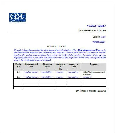 Project Plan Template Word - 6+ Free Word Documents Download - project plan templates word