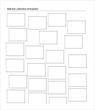 Printable Blank Calendar Template - 9+ Free Word, Excel, PDF