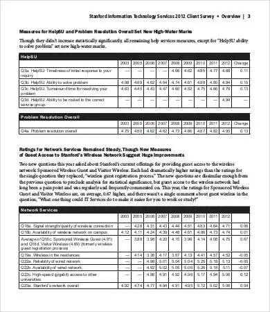 Printable Survey Template - 6+ Free Word, PDF Documents Download