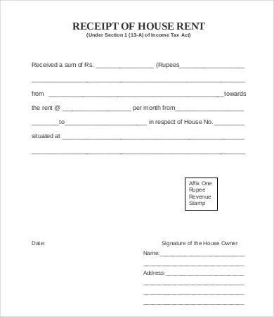 Printable Receipt Template - 33+ Free Word, PDF Documents Download - printable receipt templates