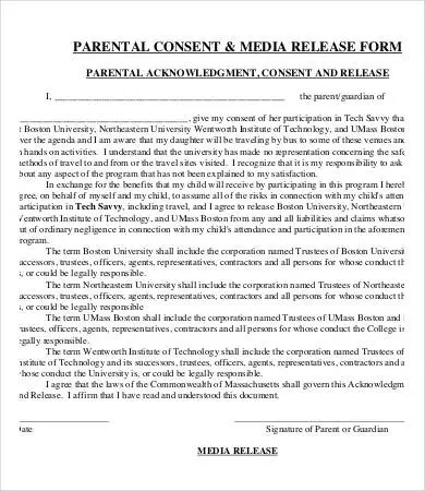 Media Release Form Template - 8+ Free Sample, Example, Format Free