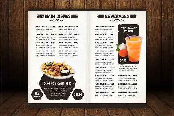 9+Restaurant Menu Designs - Free PSD, Vector AI, EPS Format Download