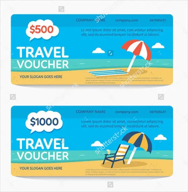 Gift Certificate Word Template Free Image Collections Travel Voucher
