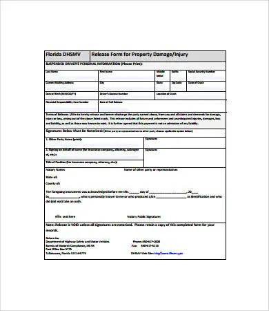 Property Release Form Property Release Form Form The Most Important