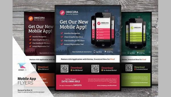 Mobile App Templates Free  Premium Templates