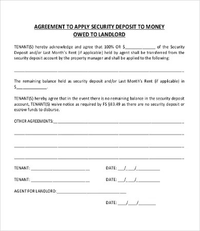 Money Agreement Template - 8+Free PDF Documents Download Free - money loan contract template