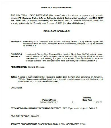 Land Lease Agreement Template - 13+ Free Word, PDF Documents - sample land lease agreement