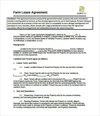 Simple Lease Agreement - 9+ Free PDF, Word Documents Download Free - ten terms to include in your lease