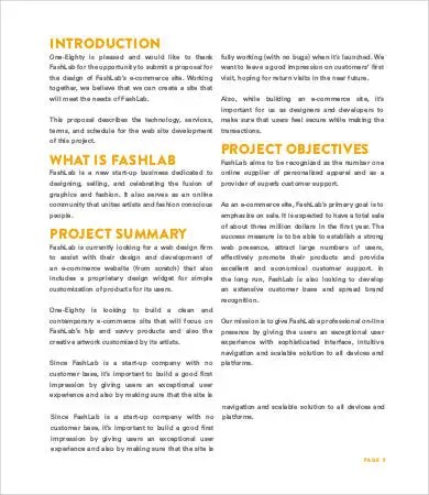 Website Design Proposal - 8+ Free Word, PDF Documents Download