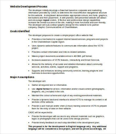 Website Design Proposal - 8+ Free Word, PDF Documents Download