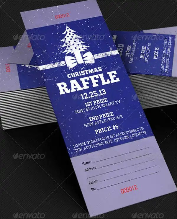 Raffle Ticket - 9+ Free PSD, Vector AI, EPS Format Download Free