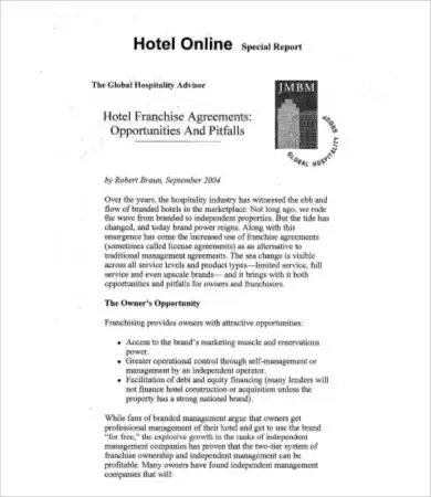 Franchise Agreements - 8+ Free Word, PDF Documents Download Free - sample franchise agreement