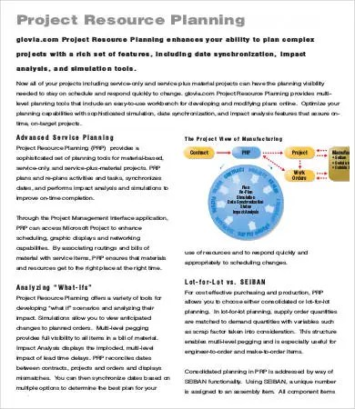 Project Planning Template - 9+ Free Sample, Example, Format Free - project planning