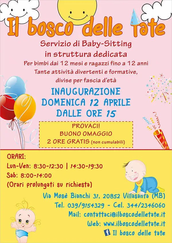 Babysitting Flyer - 5+ Free PSD, Vector AI, EPS Format Download - daycare flyer