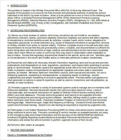 Human Resources Assistant Job Description - 9+Free Word, PDF - case management job description