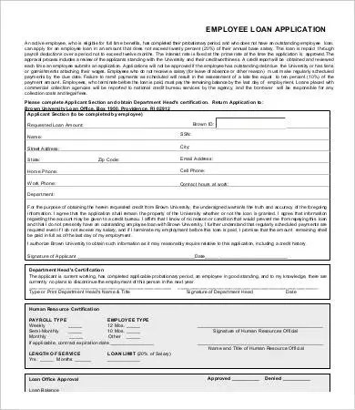 Employee Application Form - 9+ Free Word, PDF Documents Download - employee application forms