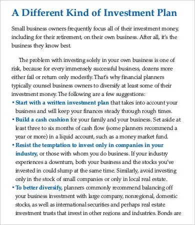 Sba Business Plan Template Small Business Plan Sample Sba Gov