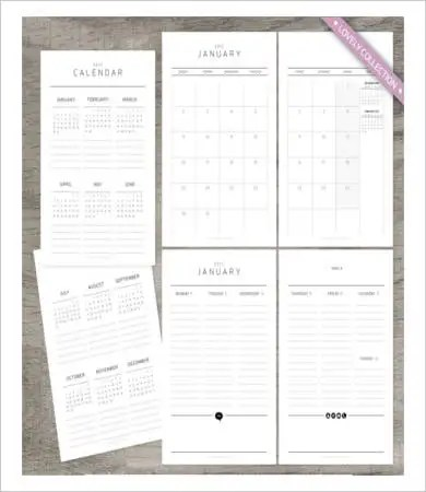 Free Printable Weekly Calendar Template - 11+ Free PDF Documents - Free Weekly Calendar