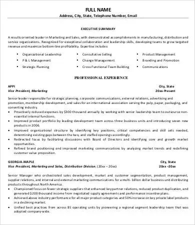 10+ Printable Product Manager Resume Templates - PDF, DOC Free - product manager resumes
