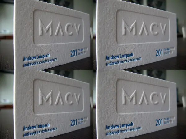 15+ Examples of Embossed Business Card Designs - JPG, PSD Free