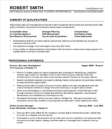 8+ Professional Resume Templates - PDF, DOC Free  Premium Templates