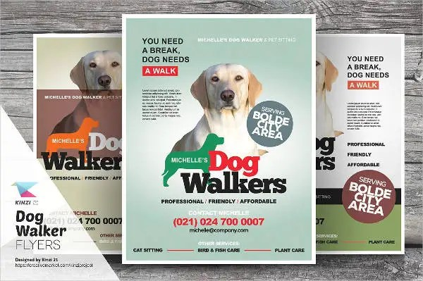 Dog Walking Poster Template Choice Image Template Design Ideas - Free dog walking flyer template