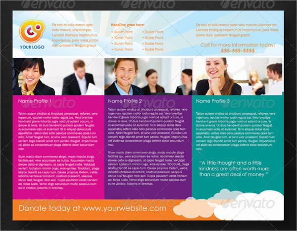 Fundraising Brochure Templates - 9+ Free PSD, Vector AI, EPS Format