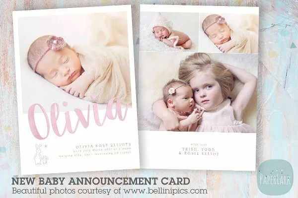 9+ Baby Announcement Templates - Free PSD, AI, Vector, EPS Format
