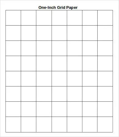 one inch graph paper to print - Towerssconstruction