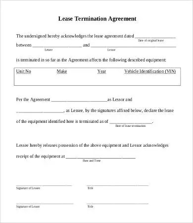 lease agreement form 10 free word pdf documents download lease termination form. Resume Example. Resume CV Cover Letter