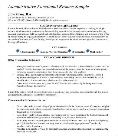 9+ Professional Resume Samples - PDF, DOC Free  Premium Templates - Resume For It Professional