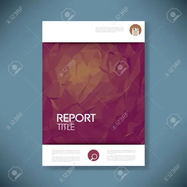 6+ Report Covers - Free PSD, Vector EPS Format Download Free - Free Report Cover Page Template